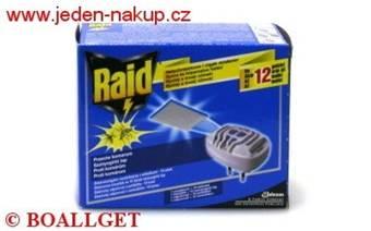 Raid elektrický odpařovač se suchou náplní ( 10 ks )