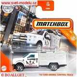 AUTÍČKO MATCHBOX FORD ANIMAL CONTROL TRUCK 2010