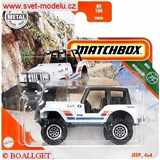 AUTÍČKO MATCHBOX JEEP 4x4