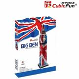 BIG BEN PUZZLE 3D CUBIC FUN C094T
