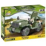 COBI 2387 SMALL ARMY WORLD WAR II 37 mm GMC M6 FARGO HISTORICAL COLLECTION