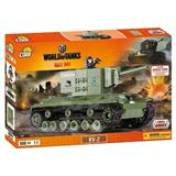 COBI 3001 SMALL ARMY WORLD OF TANKS TĚŽKÝ TANK KV-2