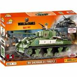 COBI 3007 SMALL ARMY WORLD OF TANKS M4 SHERMAN A1 /  FIREFLY