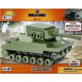 COBI 3027 SMALL ARMY WORLD OF TANKS BONUS CODE NANO TANK M-46 PATTON