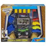 HOT WHEELS MONSTER JAM CRASH CARRY ARENAPIZZA DRIVE