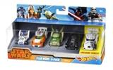 HOT WHEELS STAR WARS AUTA 5-PACK