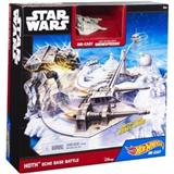 HOT WHEELS STAR WARS HOTH ECHO BASE BATTLE