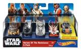 HOTWHEELS AUTÍČKA HEROES OF THE RESISTANCE 5-PACK