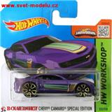 HOTWHEELS AUTÍČKO CHEVROLET CAMARO HOT WHEELS SPECIAL EDITION 2013