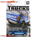 HOTWHEELS AUTÍČKO TRUCKS REAL RIDERS FORD F-250