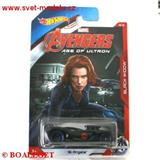 HOTWHEELS AVENGERS BLACK WIDOW 16 ANGELS