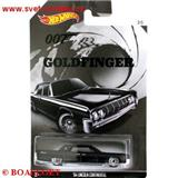 HOTWHEELS JAMES BOND AGENT 007 GOLDFINGER LINCOLN CONTINENTAL 1964