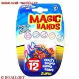 MAGICKÉ GUMIČKY MAGIC BANDS DINOSAUR LAND 12 kusů v balení