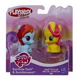 MY LITTLE PONY PLAYSKOOL FRIENDS RAINBOW DASH A BUMLESWEET
