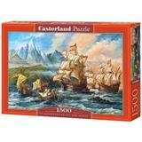 PUZZLE CASTORLAND 1500 dílků 151349 AN ADVENTURE TO THE NEW WORLD