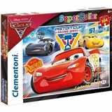 PUZZLE CLEMENTONI 104 dílků 27072 CARS 3 SUPER COLOR
