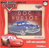 PUZZLE DŘEVĚNÉ CARS DOC HUDSON 12 dílků