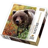 PUZZLE TREFL 10518 1000 dílků MEDVĚD LIMITED EDITION NATURE