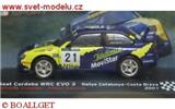 SEAT CORDOBA WRC EVO3 No. 21 CANELLAS/ SANCHIS RALLY CATALUNYA COSTA BRAVA 2001
