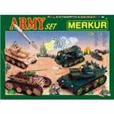 STAVEBNICE MERKUR 022 ARMY SET 657 ks
