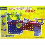 STAVEBNICE MERKUR MACHINERY SET BASIC 10 MODELŮ