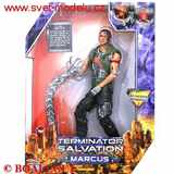 TERMINATOR SALVATION - MARCUS WITH ATTACKING HYDROBOT
