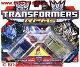 TRANSFORMERS RPMs OPTIMUS PRIME vs.  BONECRUSHER