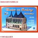 Vystřihovánka Chrám sv.  Barbory Kutná Hora