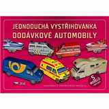 Vystřihovánka Dodávkové automobily 5 modelů