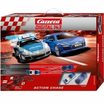 AUTODRÁHA CARRERA DIGITAL 143 ACTION CHASE
