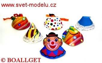 Čepice mini č. 3 na karneval