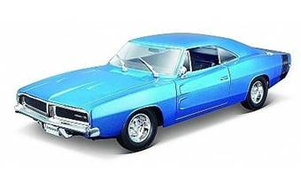 DODGE CHARGER R/T 1969 BLUE