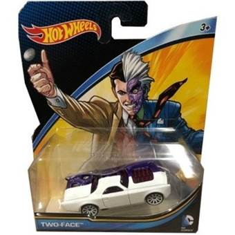 HOTWHEELS AUTÍČKA DCU TWO FACE
