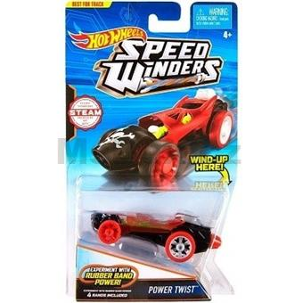 HOTWHEELS AUTÍČKO POWER TWIST RUBBER BAND POWER