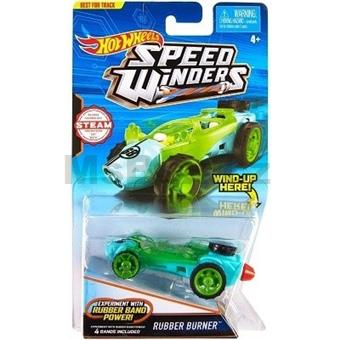 HOTWHEELS AUTÍČKO RUBBER BURNER RUBBER BAND POWER