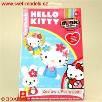 MAGIC FABRIC STUDIO HELLO KITTY KVĚTY REFILL