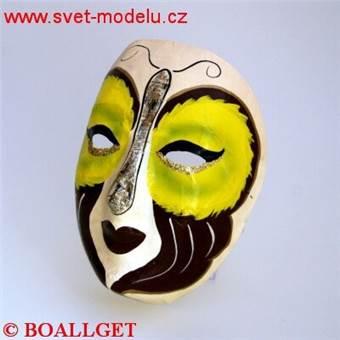 Maska benátská 10
