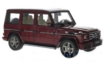 MERCEDES-BENZ G-CLASS W463 2015 RED