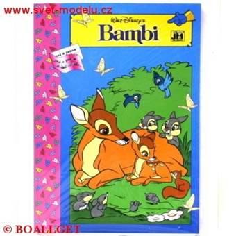 Omalovánky Puzzle Bambi