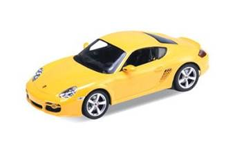 PORSCHE CAYMAN S YELLOW