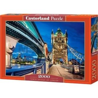 PUZZLE CASTORLAND 2000 dílků 200597 TOWER BRIDGE
