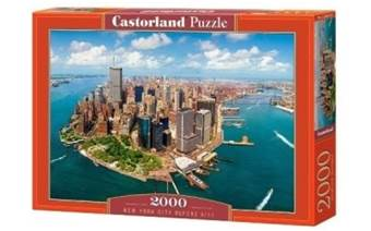 PUZZLE CASTORLAND 200573 2000 dílků NEW YORK BEFORE 9 / 11