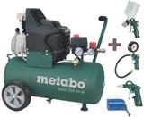 METABO Basic 250-24 W olejový kompresor +  set LPZ 4 PROFI