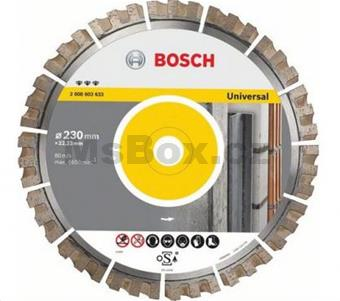 Bosch Dia kotouč Best for Universal 400x25.40 mm, segment 15 mm