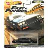 AUTÍČKO HOTWHEELS PREMIUM FAST & FURIOUS RYCHLE A ZBĚSILE MOTOR CITY MUSCLE BUICK GRAND NATIONAL GNX 1987