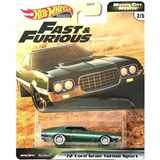 AUTÍČKO HOTWHEELS PREMIUM FAST & FURIOUS RYCHLE A ZBĚSILE MOTOR CITY MUSCLE FORD GRAN TORINO SPORT 1972