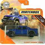 AUTÍČKO MATCHBOX CHEVROLET COLORADO XTREME 2016