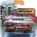 AUTÍČKO MATCHBOX FORD INTERCEPTOR UTILITY FIRE CHIEF 2016