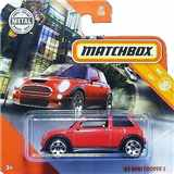 AUTÍČKO MATCHBOX MINI COOPER 2003 RED