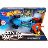 HOTWHEELS AUTÍČKO SPEED WINDERS TORQUE TWISTER WITH 10 RUBBER BANDS